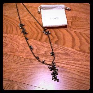 J. Crew cluster pendant necklace
